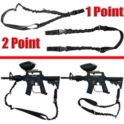 Trinity 2 point 1 point tactical bungee sling for tactical markers paintballing woodsball gear.